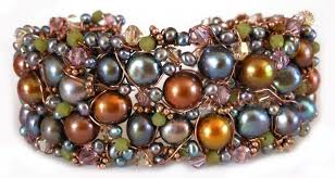 beaded cuff bracelet patterns images How to make beaded cuffs 9 tutorials to try jpg
