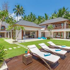villa layout tirta nila beach house 4 bedrooms luxury