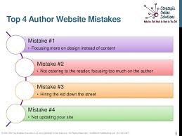 3 Tips For Designing The by Tips For Designing A Successful Author Website