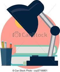 icone bureau travail bureau icône clipart vectoriel rechercher illustration