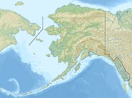 Alaska Rivers Map by Bering Land Bridge Geographic Overview