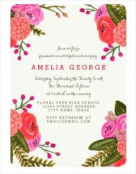 invitation designs 41 graduation invitation designs free premium templates