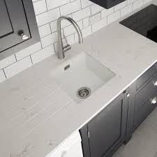 white quartz kitchen sink carrera urban quartz rock and co granite ltd