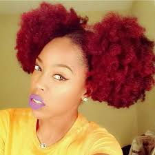afro puff pocket bun hairstyles 31 best love red hair images on pinterest natural