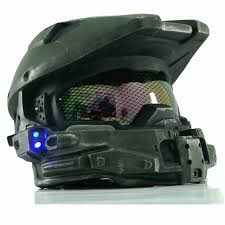 Master Chief Halloween Costumes Aliexpress Buy Xcoser Halo 4 Master Chief Helmet Blue
