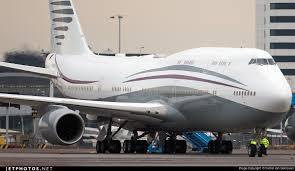 a7 hbj boeing 747 8kb bbj qatar amiri flight michel van