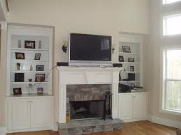 Fireplace Surround Bookshelves Delightful Fireplace Surrounds Decorating Ideas For Living Room