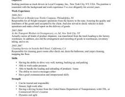 sle resume objective driver resume objective yun56 co gallery of truck driver resume sle