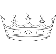 crown coloring free printable coloring pages