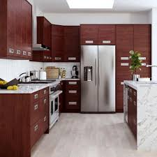 how to clean my cherry wood kitchen cabinets genoa cherry thermo fused melame lamate plywood shaker stock ready to assemble wall kitchen cabinet 24 in w x 12 in d
