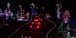 drive through holiday light shows u2013 elf blog