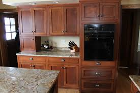 red oak kitchen cabinet homes design inspiration