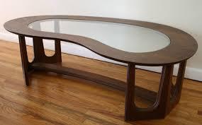 furniture kidney coffee table designs brown triangular modern