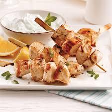 cuisine grecque recette brochettes de poulet à la grecque recettes cuisine et nutrition