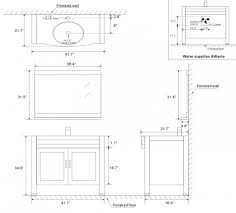 standard mirror sizes for bathrooms bathroom vanity cabinet height 2414 standard mirror designed for