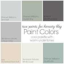 two points for honesty whole house paint palette paint colors