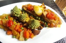 cuisiner un chou romanesco recette de filet mignon de veau au chou romanesco et ses légumes