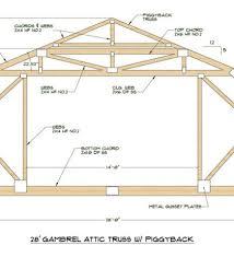 Gambrel House Floor Plans Gambrel House Floor Plans Moreover Gambrel Roof Barn House Plans