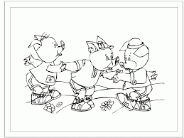 pigs straw house coloring pages u2013 coloring kidz