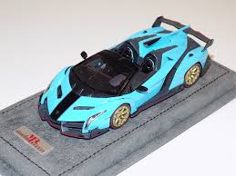 cartoon lamborghini veneno cool amazing 1 43 mr lamborghini veneno roadster with black stripe