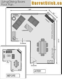 draw room layout how to optimize typical rental layouts the l shaped living dining