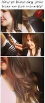 how to blow dry your hair in five minutes a super easy guide to