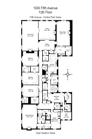Central Park Floor Plan by Enormous Fifth Avenue Pad With Views Of Central Park The Met Asks