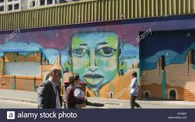 adelaide australia 3rd apr 2017 colourful art murals are stock adelaide australia 3rd apr 2017 colourful art murals are showcased as part of the adelaide fringe festival street art explosion to brighten up walls