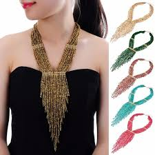 resin beaded necklace images 10 colors collar creative chain style bib pendant necklace resin jpg