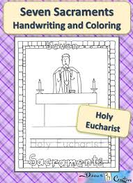 7 sacraments coloring pages sacraments reconciliation coloring