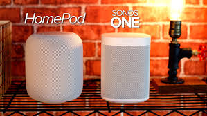 smart l with speaker video apple homepod vs sonos one