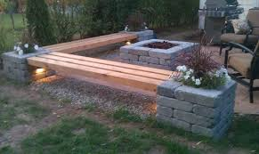 easy diy garden and outdoor furniture ideas cinder block bench
