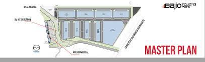master plan u2013 bajio industrial park