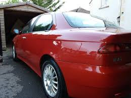 alfa romeo 156 1 8 twin spark veloce 2004 5 speed manual low