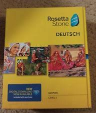 rosetta stone german cd rosetta stone german computers tablets networking ebay