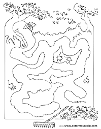 fall color page fall coloring activity maze create a printout or activity