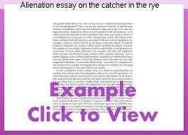 catcher in the rye theme of alienation alienation essay on the catcher in the rye homework help