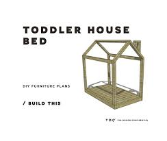 plans to build a house free diy furniture plans how to build a toddler house bed the