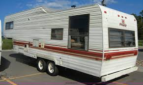 1986 fleetwood prowler 30 u0027 fifth wheel camper item d9752