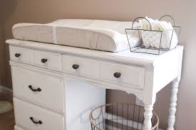 Dresser Into Changing Table Laundry Changing Table Diy