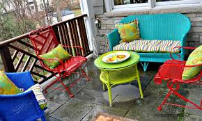 Iron Outdoor Patio Furniture Amazing Of Painting Patio Furniture Ideas Spray Painting Metal