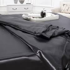 Silk Duvet Set Buy Black Silk Duvet Cover Online In Uk Silk Bed Linen At