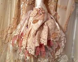 romantic shabby lace bags and clothes by tattereddelicates