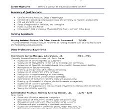 resume templates professional profile exle professional cna resume template profile for sle experience