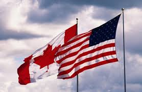 How Many Stars In The Us Flag The 49th Parallel View How Did Canada And The U S Get Divvied Up