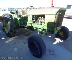 1962 john deere 2010 tractor item da7685 sold march 30