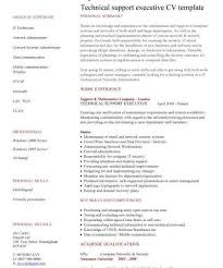 Technical Support Resume Template Homey Design It Support Resume 8 It Cv Template Library Technology