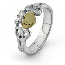 knot ring meaning and 10k gold claddagh ring ls clad36 mix