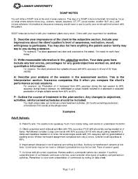 soap note template forms fillable u0026 printable samples for pdf
