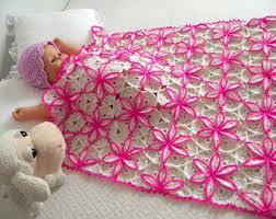 Crochet Designs Flowers Crochet Baby Blanket Pattern Crochet Pattern For Baby